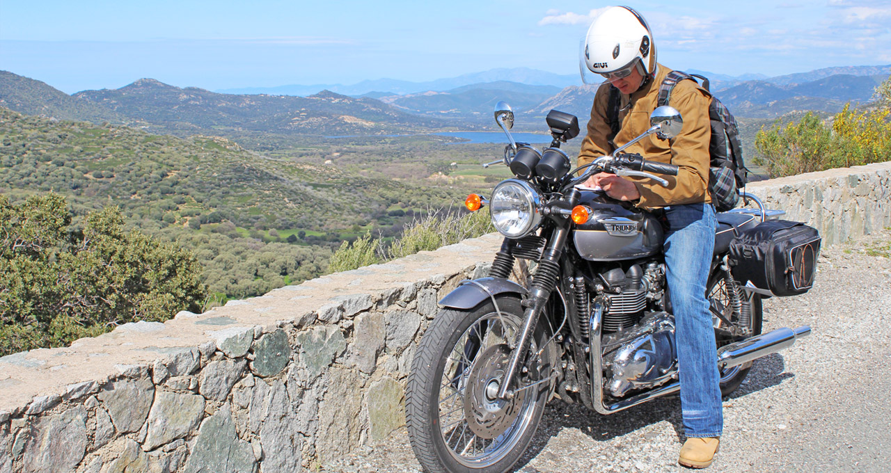 Motorcycling holidays on Corsica