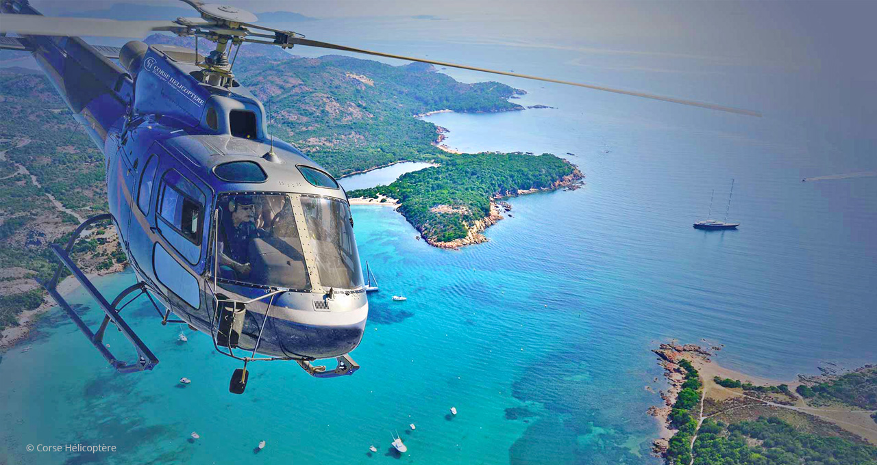 Helicopter hire Corsica